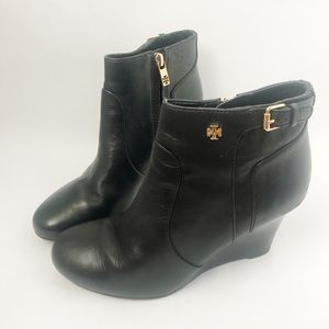 Tory Burch Milan leather Booties